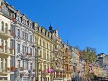 Karlovy varía el balneario Imagen de archivo libre de regalías