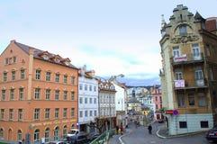Karlovy variërt Tsjechische Republiek Stock Fotografie