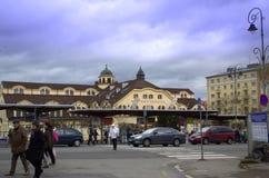 Karlovy variërt Tsjechische Republiek Royalty-vrije Stock Foto