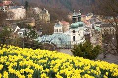 Karlovy variërt, Tsjechische Republiek Royalty-vrije Stock Fotografie