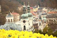 Karlovy variërt, Tsjechische Republiek Stock Afbeeldingen