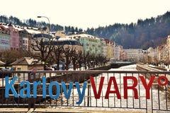 Karlovy variërt, Tsjechische Republiek Royalty-vrije Stock Foto