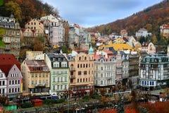 Karlovy varia Foto de Stock Royalty Free