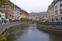 Karlovy varia il praga Immagini Stock