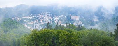 Karlovy varia, república checa Fotografia de Stock Royalty Free