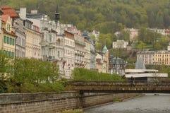 Karlovy varia a república checa Imagens de Stock