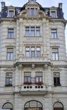 Karlovy-varieer, 28 Augustus: De bouw van hotelmenuet in Karlovy varieert in Tsjechische Republiek Stock Fotografie