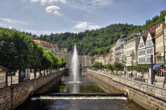 Karlovy varieert Royalty-vrije Stock Fotografie