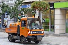 Karlovy varieert, Tsjechische Republiek - World Spa Stock Afbeelding