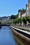 Karlovy varierar (Carlsbad) Arkivfoto