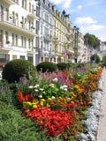 Karlovy variou a vista. Fotografia de Stock Royalty Free