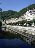 Karlovy Vary. Spa Town Karlovy Vary in Czech Republic stock photos
