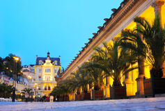 Karlovy Vary. Thermal mineral springs colonnade, Czech Republic royalty free stock image