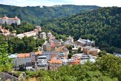 Karlovy Vary stockbilder