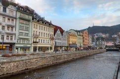 Karlovy Vary, Bohême, République Tchèque photos stock