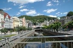 Karlovy Vary, Carlsbad Photo libre de droits