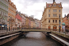 Karlovy Vary (Carlsbad), Czech Republic Royalty Free Stock Images