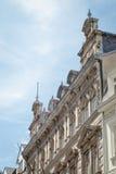 Karlovy Vary center, detail of baroque architecture, Czech Republic. Karlovy Vary, Czech repulic, baroque architecture Stock Photography
