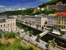 Karlovy Vary city Royalty Free Stock Photo