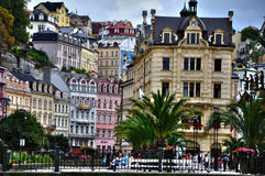 Karlovy Vary, the city view Royalty Free Stock Image