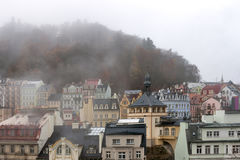 Karlovy Vary cityscape Royalty Free Stock Image