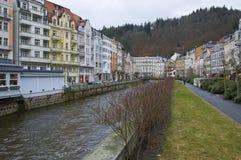 Karlovy Vary cityscape. Czech republic Royalty Free Stock Image