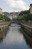 Karlovy Vary,Czech famous spa place Royalty Free Stock Photos