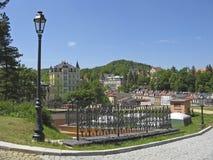 Karlovy Vary,Czech famous spa place Stock Image