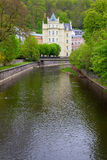 Karlovy Vary. Czech Republic Royalty Free Stock Photo