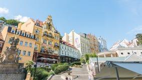 Karlovy Vary. In Czech Republic Royalty Free Stock Photography