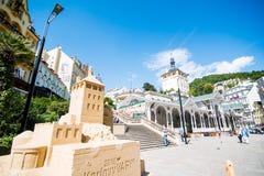 Karlovy Vary. In Czech Republic Royalty Free Stock Image