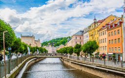 Karlovy Vary. At Czech Republic stock images