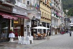 Karlovy Vary in Czech Republic Royalty Free Stock Photography