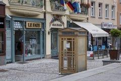 Karlovy Vary in Czech Republic Stock Photography