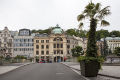 Karlovy Vary in Czech Republic Royalty Free Stock Image