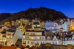 Karlovy Vary in Czech Republic Royalty Free Stock Photos