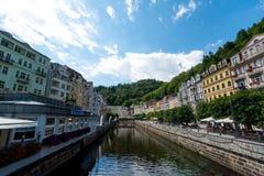 Karlovy Vary. In Czech Republicn Stock Image