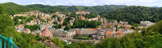 Karlovy Vary Deer Jump Royalty Free Stock Images
