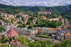 Karlovy Vary Deer Jump Royalty Free Stock Photos