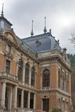 Karlovy Vary gothic spa architecture stock photo