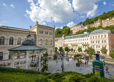 Karlovy Vary landscape Royalty Free Stock Images