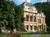 Karlovy Vary, Lazne I. Lazne (spa/health centre) number one, or Emperor's, in Karlovy Vary, Czech Republic stock photography