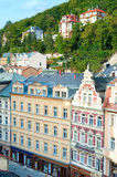 Karlovy Vary Old Town Stock Image