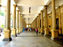 Karlovy Vary 3. Karlovy Vary is a popular tourist destination, especially known for international celebrities visiting for spa treatment. The city is also known stock images