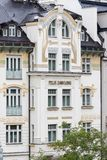 Karlovy Vary, République Tchèque - 15 août 2017 Images libres de droits