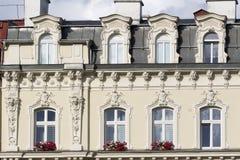 Karlovy Vary, République Tchèque - 15 août 2017 Photographie stock libre de droits