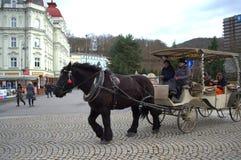 Karlovy Vary scene Royalty Free Stock Photography