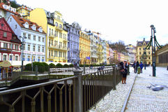 Karlovy Vary scene Royalty Free Stock Images