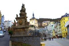 Karlovy Vary sight Royalty Free Stock Photos