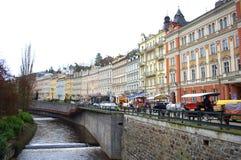Karlovy Vary view Stock Image